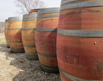 59 Gallon Wine Barrel - ON SALE! (Lowest Shipping SouthEast 99, Other 149 - See Details and Map