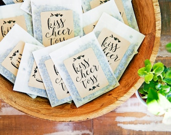 Dried Lavender Bud Send Off - Wedding Reception - Kiss Cheer Toss - Confetti Exit Alternative - Lavender Toss - 25 finished lavender packets