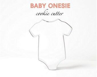 Baby Onesie Cookie Cutter- Custom Cookies- Party- Shower- Gender Reveal