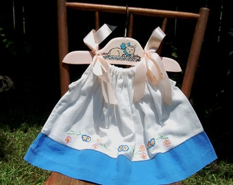 Vintage Baby Clothes, Newborn Photo Prop, Baby Girl Outfit, Newborn Dress Prop, Photo Outfit, Baby Photo Prop, Vintage Linen, OOAK