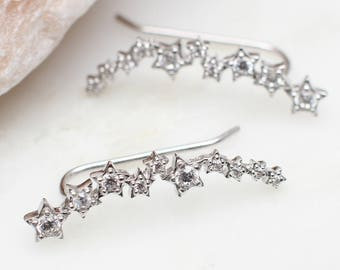 Sterling Silver Constellation Earrings (HBE120)