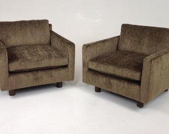 Modern mid century lounge chairs    Free Shipping