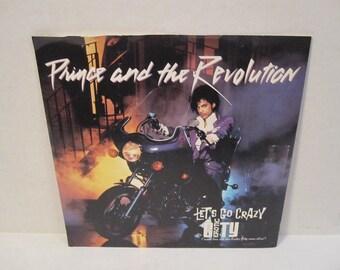 Prince Let's Go Crazy 45 Record / Erotic City 1980