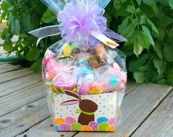Easter Bath Gift Basket, Easter Basket, Easter Gifts for Kids, Bath Gift Basket Children, Easter Hostess Gift, CoWorker Easter Gift