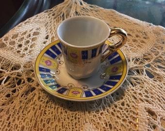 Small Porcelian Demitasse teacup set