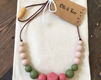 Sweet Tribe Teething Necklace / Nursing Necklace