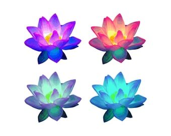 Lotus Flower Clip Art - Lotus Flowers, Lotus Clipart, Lotus Graphic, Lotus Clips, Flower Clipart, Floral Clip Art, Zen Clip Art, Vector PNG