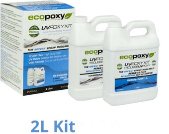 2L uvpoxy/ Ecopoxy/ safe resin art epoxy
