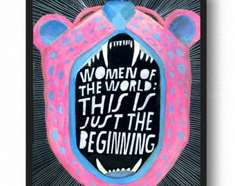 Women of the World Art Print - Lisa Congdon