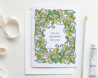 Thank You Cards Set, Greeting Cards, Floral Card Set, Japanese Stationery, Thank You Card, Greeting Card, Boxed Stationery Set, Floral Cards