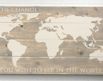 Be the Change World Map