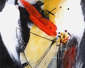 Painting, acrylic, original / KOMETA