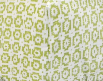 Green Damask Bloom in Apple Crib Baby Bedding | Crib Sheet
