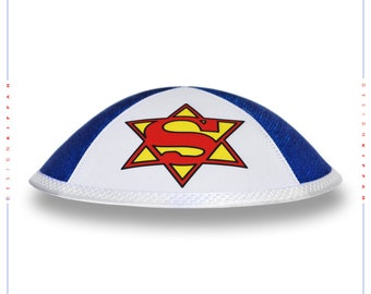 SuperJew kippah yarmulke yamaka kippa.