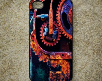 iPhone Cover(all models) - smartphone - mobile cover - Rust - Decay - Steampunk  - Engine - Samsung Galaxy S3 S4 S5 S6 & others