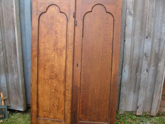 ANTIQUE CHURCH DOORS Interior Oak Doors 64 1/2
