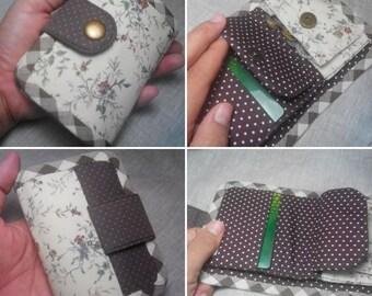 naydeeStudio: Olivia Practical Wallet sewing patterns and tutorial. PDF sewing patterns and tutorials. Women wallet and kids wallet.