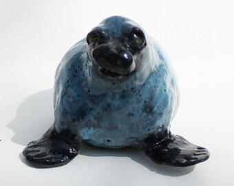 Sadie the Seal -Ceramic Figurine