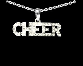 CHEER Rhinestone Necklace