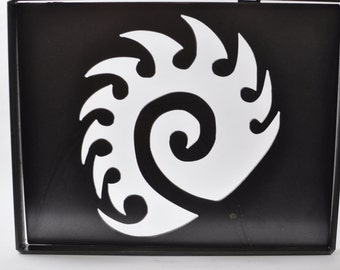 Starcraft  metal art with frame