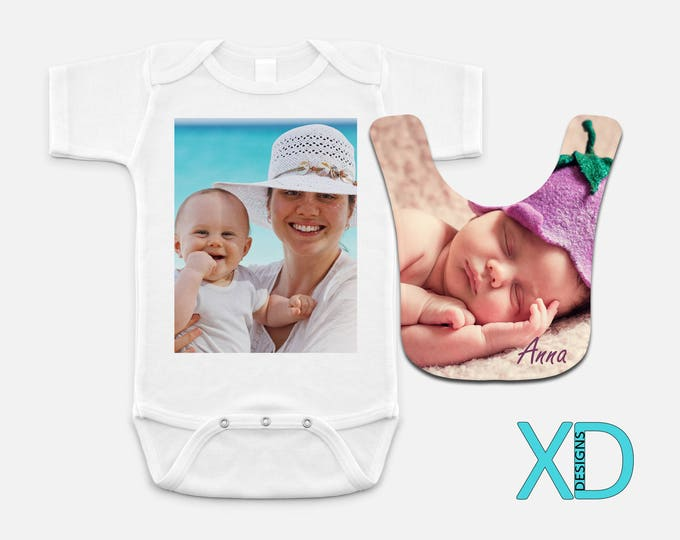 Custom Baby Bib, Custom Baby One Piece, Custom Baby Gift, Baby Shower Gift, Gift For Baby, Newborn Gift, Personalized Baby Bib, Gift For Mom