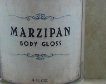 Marzipan - Body Gloss - Sweet Almond, Raw Sugar, Buttery Vanilla