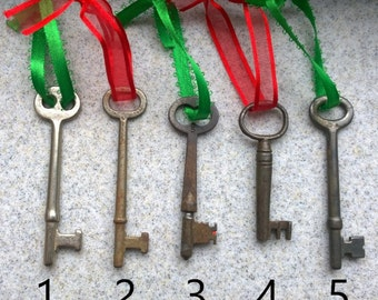 Skeleton Key Ornaments