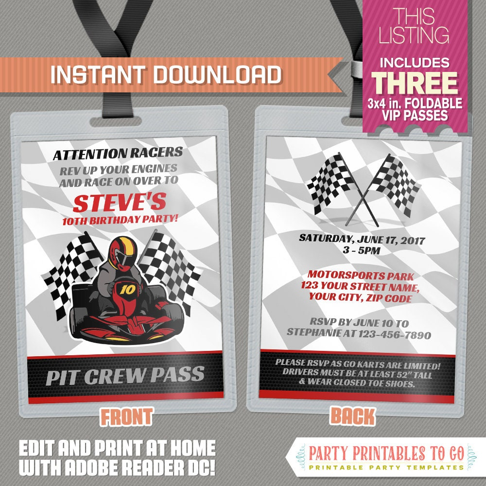 Beautiful Vip Pass Invitation Template Ideas - Resume Template ...