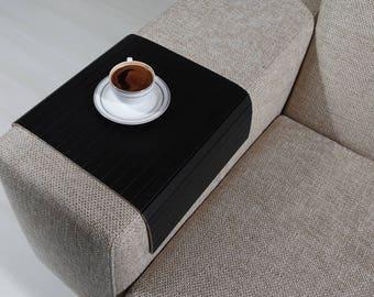 Sofa Arm Tray, Sofa Tray Table, Coffee Table, Sofa Table, Wood Tray, Sofa Arm Table, Gift, Home&Living, SSYH3050FF