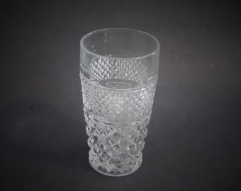 Anchor Hocking Crystal Wexford Glass 11 Ounce Tumbler Vintage