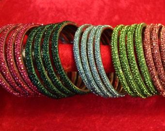 Hyderabad glitter bangles
