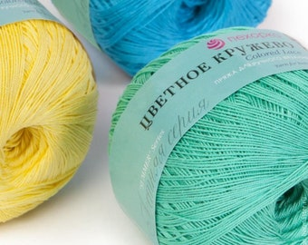 "Pekhorka Yarn ""Color Lace"" (Russia)"