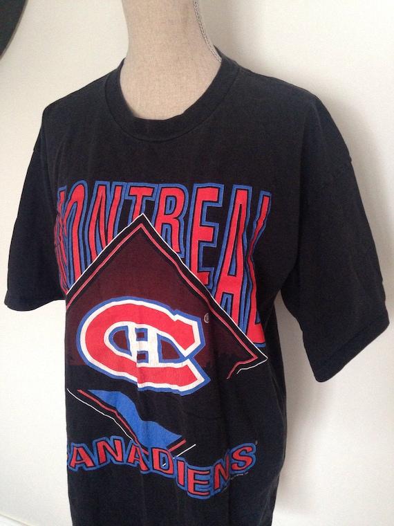 Vintage Montreal Canadiens Hockey 1994 Tshirt tPaBaot0L