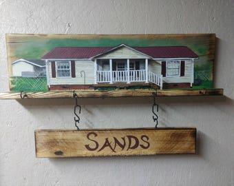 custom made key holder  kitchen housewares