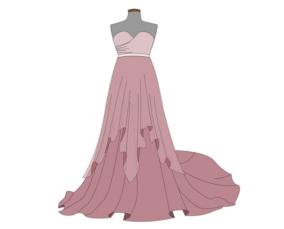 Wedding Dress Patterns Pdf: Cross front sweetheart bodice pdf ...