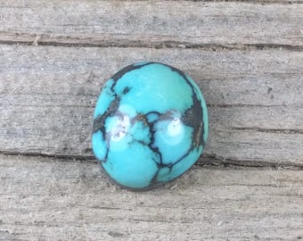 Natural Carico Lake Turquoise Cabochon - 1090