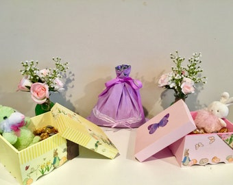 Easter Boxes and Bags - Personalized