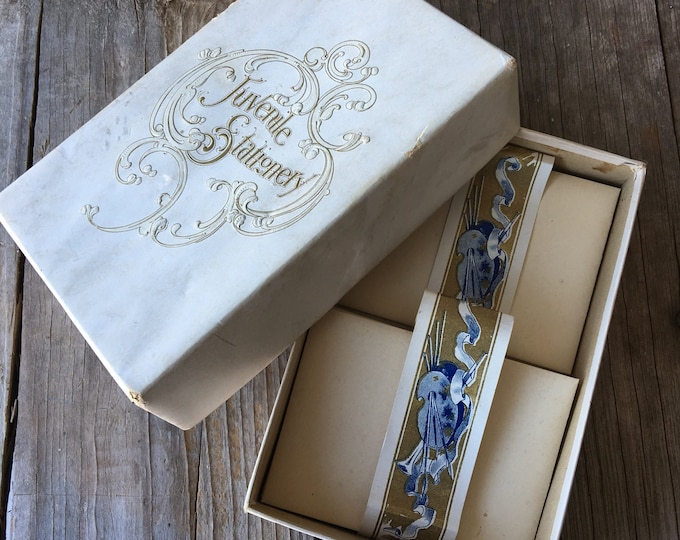 Vintage Stationery Box Envelopes Beautiful Graphics