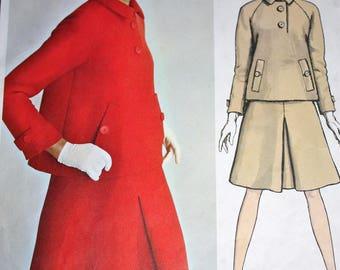 SALE RARE Vogue Paris Original Skirt and Jacket by Patou---Vogue 1731---Size 16  Bust 36