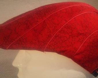 platte pet model XV rood/rood