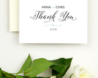 Wedding Thank You Notes - Thank You Cards for Wedding Note Cards Personalized Note Cards - Personalized Thank You Cards - Thank You Wedding
