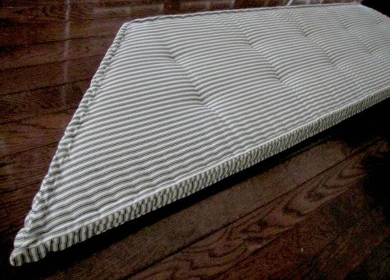 trapezoid window cushion french mattress cushion window seat. Black Bedroom Furniture Sets. Home Design Ideas