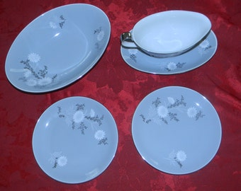 Regal Japan Starlite Vintage Dinnerware/China/Floral