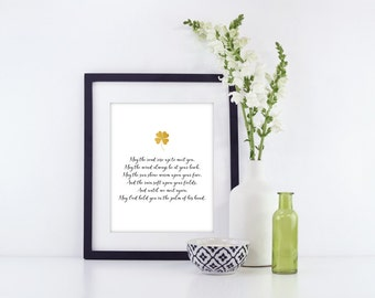 Irish Blessing | Irish Blessing Song | Irish Blessing Quote | Irish Blessing Prints | Irish Blessing Sympathy | Irish Blessing May the Road