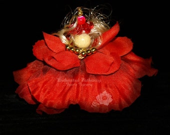 Neya the Flower Petal Faerie, Fairy, OOAK