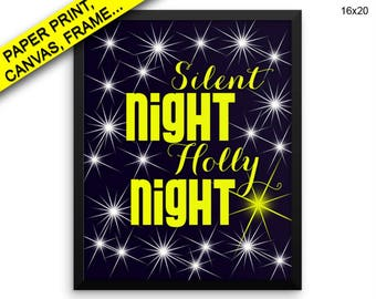 Silent Holly Prints Silent Holly Canvas Wall Art Silent Holly Framed Print Silent Holly Canvas Art Silent Holly Prints Silent Holly Night