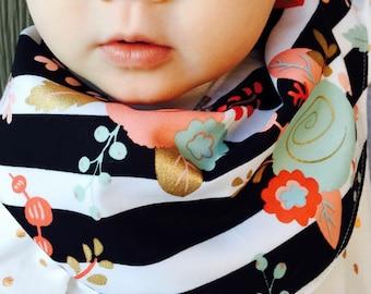 Baby Infinity Scarf Bib