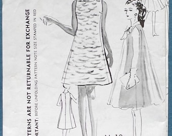 1967 Misses' Dress and Coat   Size 18 - Spadea Duchess of Windsor Sewing Pattern N-10
