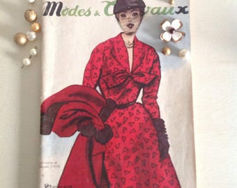 French Vintage Women's Magazine
