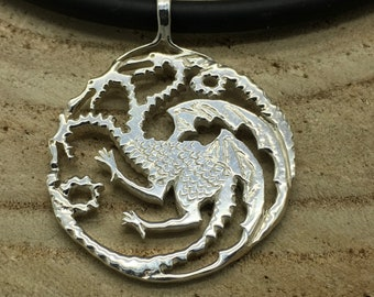 Hand Forged Sterling Silver Targaryen.